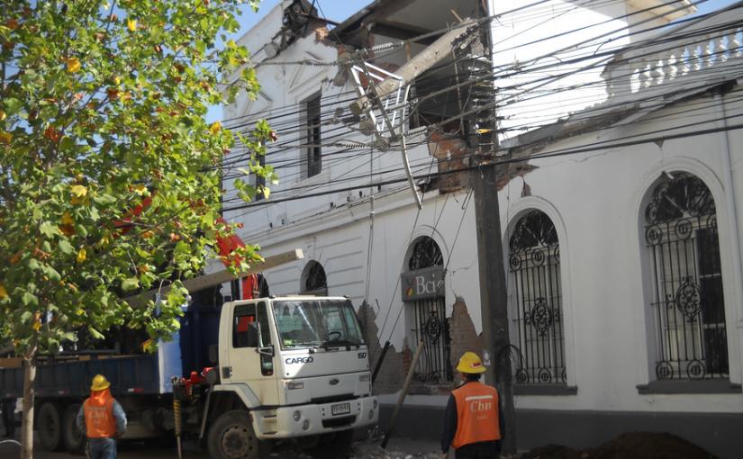 Un angustiante Día del Patrimonio en Curicó