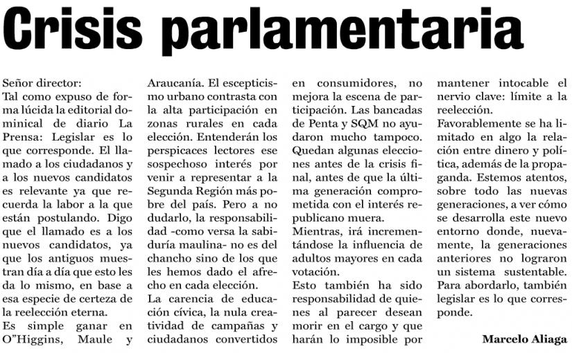 Crisis parlamentaria